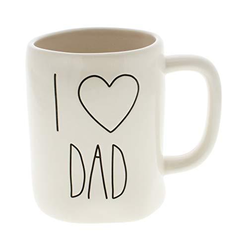 Rae Dunn by Magenta I HEART DAD Ceramic LL Coffee Mug