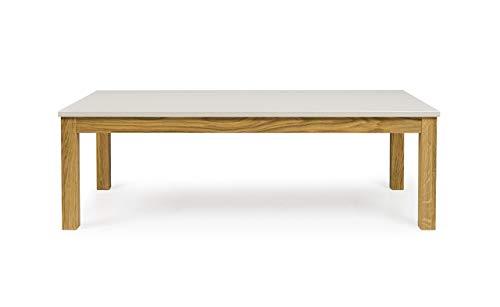 Tenzo 3570-083 Fresh Designer Sofatisch Holz, warm grey / eiche, 60 x 120 x 38 cm