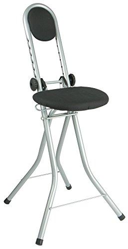 Stehhilfe, Stehsitzhilfe - Entlastet Beine + Wirbelsäule, Bügel Stuhl