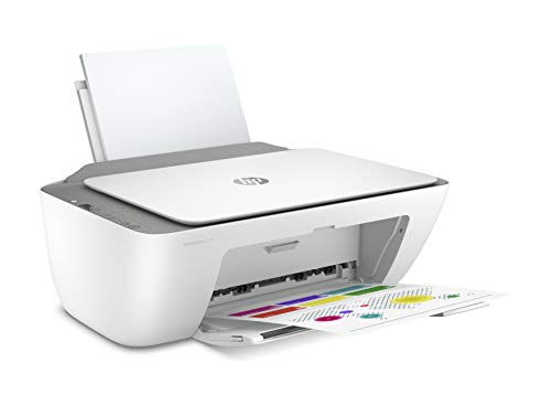 HP DeskJet 2720 3XV18B Stampante Fotografica Multifunzione A4, Stampa, Scansiona, Fotocopia, Wi-Fi, Wi-Fi Direct, HP Smart, No Stampa Fronte/Retro Automatica, 2 Mesi di HP Instant Ink Inclusi, Grigia
