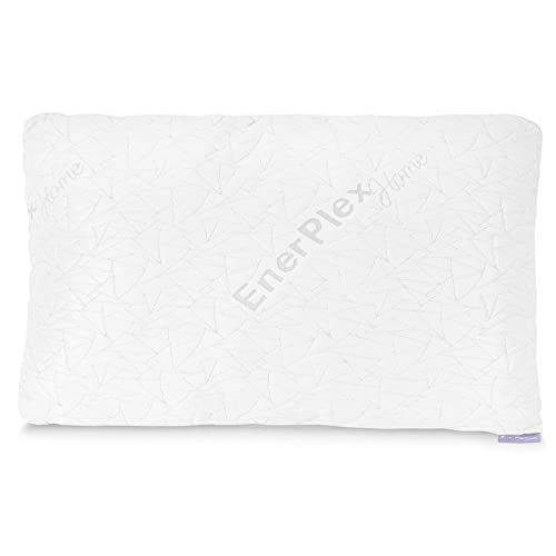 EnerPlex Memory Foam Pillows for Sleeping - King Cooling Pillow for Back, Stomach and Side Sleepers - Adjustable w/ Removable Cover - Luxury Bed Pillows & Positioners