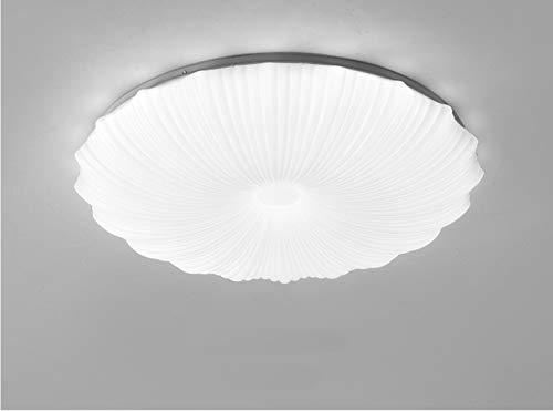 Lamparas LED redondas de Techo54w es adecuada para pasillo, sala de estar, dormitorio, cocina, oficina, moderna Luz de Techo, luz blanca neutra, luz cálida, pantalla Focos Techo, 50CM