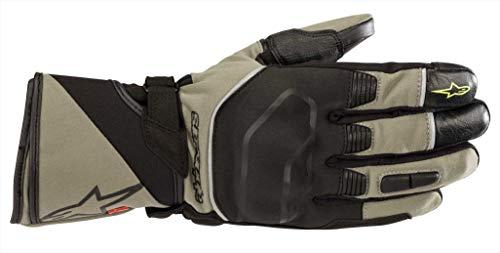 Alpinestars Guantes de moto Andes Touring Outdry Glove Military Green Black, negro/verde, XXL