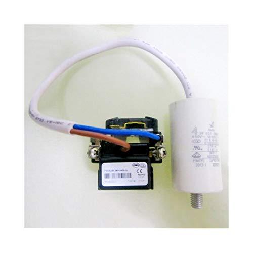 XIAOFANG 1PC Frigorifero compressore relè di avviamento Fit Dispositivo for Embraco QD TSD2 513.605.500 Forma for Haier Frigorifero compressore