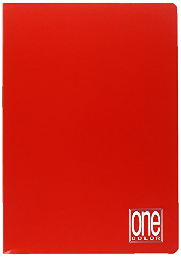 Blasetti 1411 Maxi One Color Quaderno Formato A4, Rigatura 5M, Quadretti 5 mm per 2° e 3° Elementare, Carta 80g/mq, Colori assortiti, Pacco da 10 Pezzi