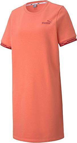 PUMA Damen Amplified Jerseykleid orange XS