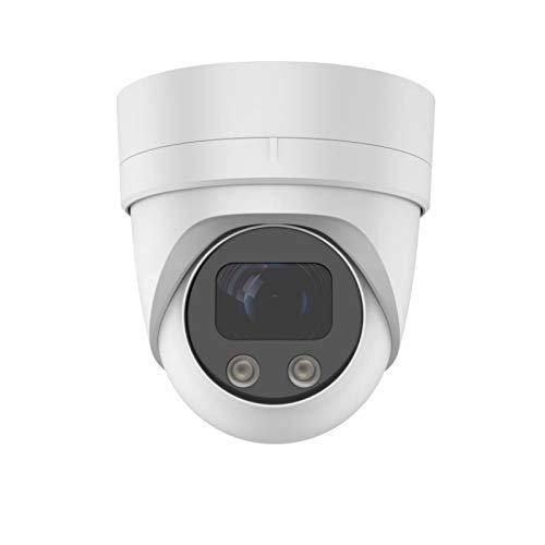 Securvideo Cámara Dome Turret 4 MP IP Poe Onvif Motorzoom 5X 2,7-13,5 mm SD Card Slot Ir 25 m IP67