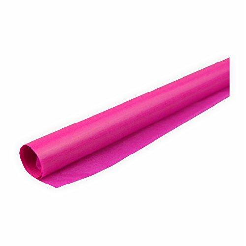 Transparentpapier 42g/m² 1 Rolle pink 70x100cm Drachenpapier