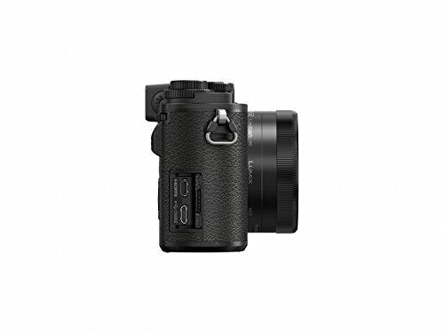 Panasonic Lumix DC-GX9WEG-K Systemkamera (20 MP, Dual I.S., Klappsucher, 4K, Touch,12-32mm und 35-100 mm Objektiv, schwarz)
