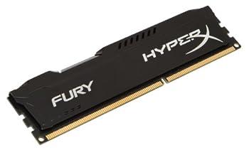 Kingston HyperX FURY 8GB 1866MHz DDR3 CL10 DIMM - Black  HX318C10FB/8