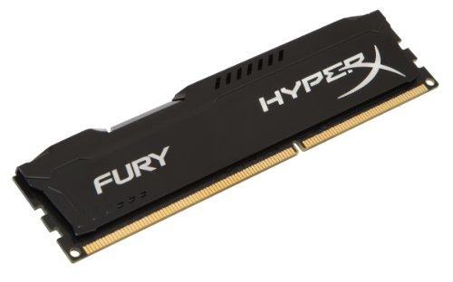 HyperX Fury HX316C10FB/8, Memória 8GB DDR3 1600MHz CL10 DIMM 1.50V