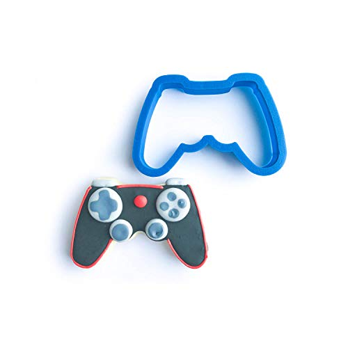 Frosted Cookie Cutters Video Game Controller Cookie Cutter (Large - 4 in)