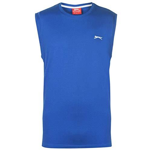 Slazenger - Camiseta sin mangas para hombre