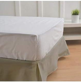 10XDIEZ Cubre canapés 90 Color Arena - Medidas canapé 90cm - Elegante y Sencillo de Lavar y Colocar - Tejido Fuerte, Suave y Duradero