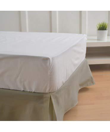 10XDIEZ Cubre canapés 150 Color Arena - Medidas canapé 150cm - Elegante y Sencillo de Lavar y Colocar - Tejido Fuerte, Suave y Duradero