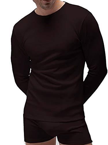 Pack 2 - Camiseta interior manga larga térmica hombre Rapife (XL, Negro)