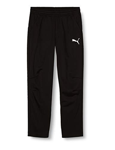 PUMA Kinder LIGA Training Pants Core Jr Hose, Black White, 128
