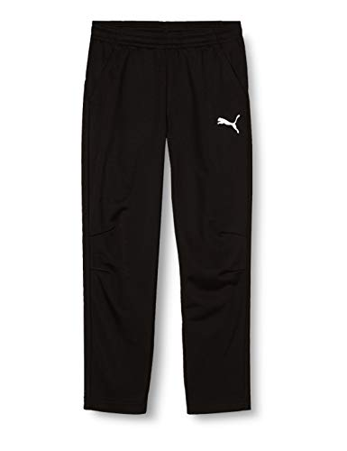 PUMA Kinder LIGA Training Pants Core Jr Hose, Black White, 176