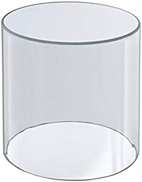 HK FIXTURES Clear Round Acrylic Cylinder Easy Dis supreme National products Set – up