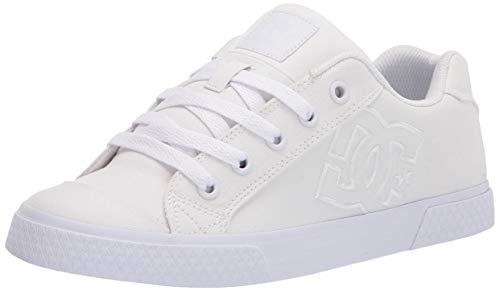 DC Zapatillas Chelsea Skate para mujer, blanco (Blanco/Blanco), 38 EU