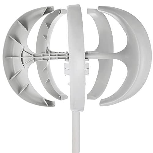KITGARN Wind Turbine 600W 12V Wind Turbine Generator White Lantern Vertical...