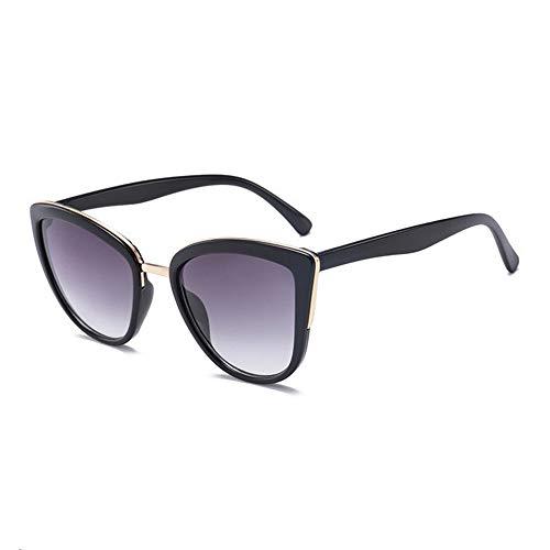 UKKD Gafas De Sol Para Mujer Gafas De Sol Mujeres Vintage Gafas Degradados Retro Gato Ojo Gafas De Sol Eyewear Hembra Uv400