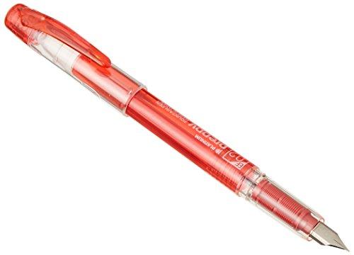 Platinum Preppy 02 - Pluma estilográfica, color rojo