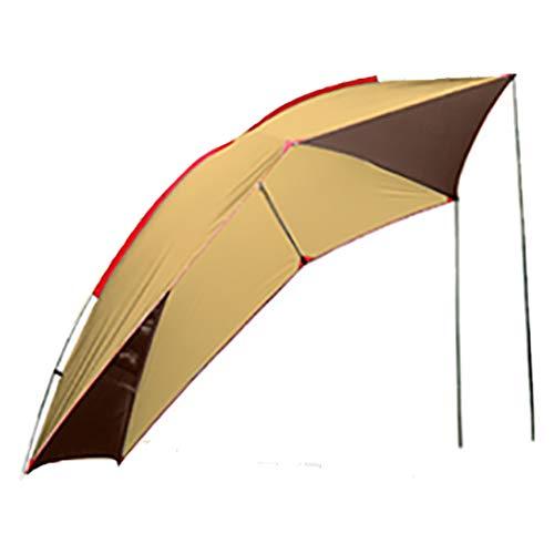 サンパーシー テント カーサイドタープ ルーフ タープ リアゲート アウトドア 登山 釣り 車 キャンプ (ブラ...