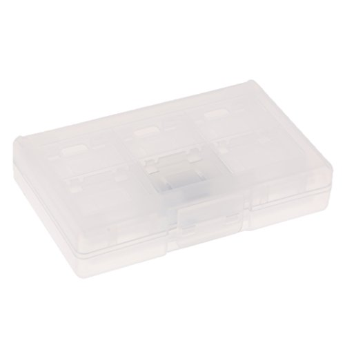 IPOTCH para Switch Cartucho de Tarjeta de Juego de 24 Ranuras Soporte de Caja Desmontable - Blanco, como se Describe