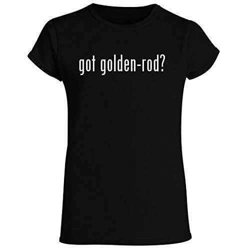 got golden-rod? - Women's Crewneck Short Sleeve T-Shirt, Black, XX-Large