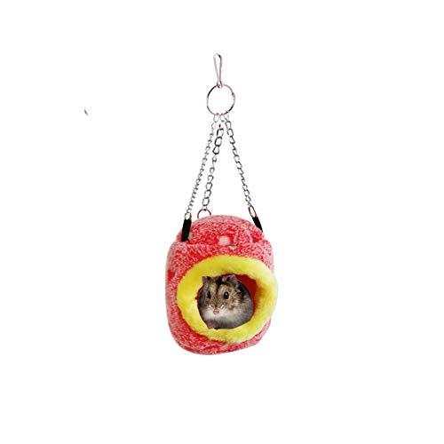 Bello Luna Hamster Hängematte Warm Parrot Hut for Cage Geeignet für Hamstermäuse