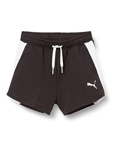 PUMHB|#Puma Modern Sports Shorts G, Pantaloncini Bambina, Puma Black, 164