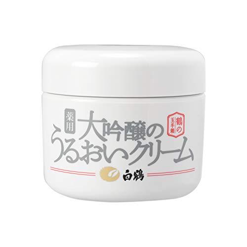 白鶴 鶴の玉手箱 薬用 大吟醸のうるおいクリーム 90g