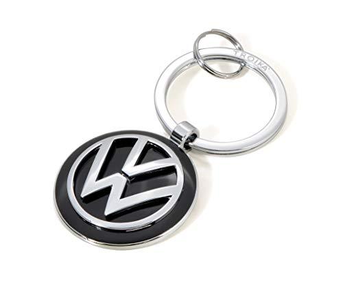 TROIKA Llavero KEYRING – KR16-05/VW Emblema VW 1 llavero además oficial licensed by Volkswagen – metal fundido brillante – Original