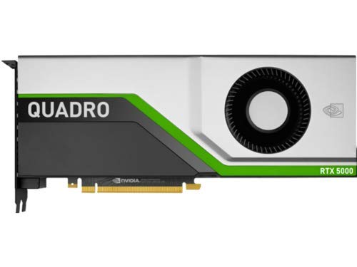 HP NVIDIA Quadro RTX 5000 PCIe 3.0 X16 Grafikkarte, 16 GB GDDR6, Silber