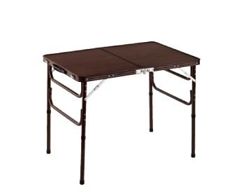 『木目調軽量折りたたみテーブル』