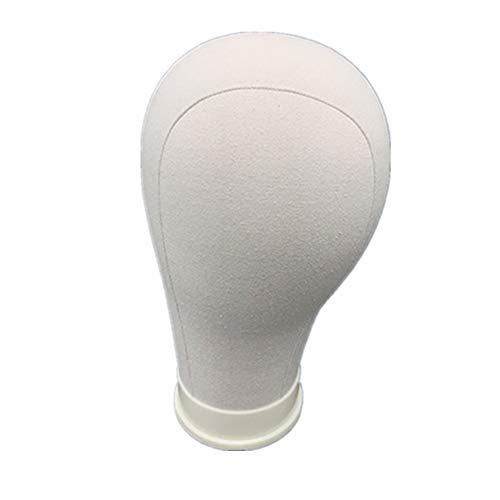 tete a perruque tete mannequin Mannequin tête Tête en mousse de polystyrène Polystyrène tête Maniquine tête Perruque mannequin tête white,24in