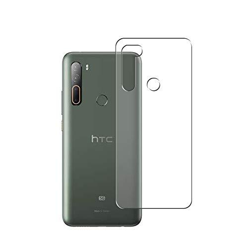 VacFun 2 Piezas Protector de pantalla Posterior, compatible con HTC U20 5G, Película de Trasera de TPU