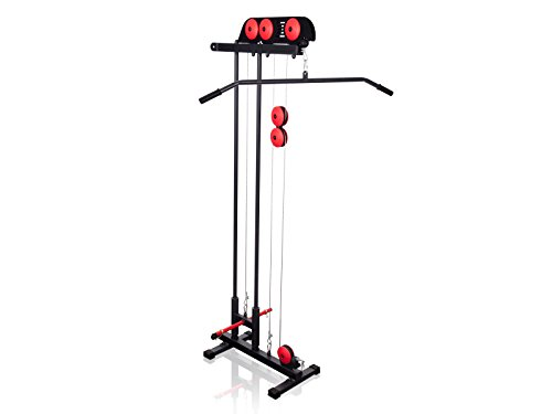 Marbo Sport Lat Machine con barra alta e presa pulley basso MS-W103