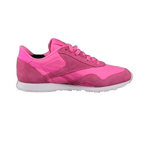 Reebok Damen Schuhe / Sneaker Classics Nylon Slim Metallics Packs pink 38