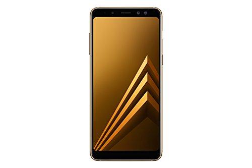 Samsung Galaxy A8 (2018) Smartphone, Gold, 32GB espandibili, Dual sim [Versione Italiana]