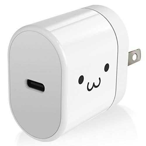 エレコム USB コンセント PD 充電器 15W Type-Cポート×1 【 iPhone/Android/タブレット 対応 】 ホワイトフェイス MPA-ACC18WF