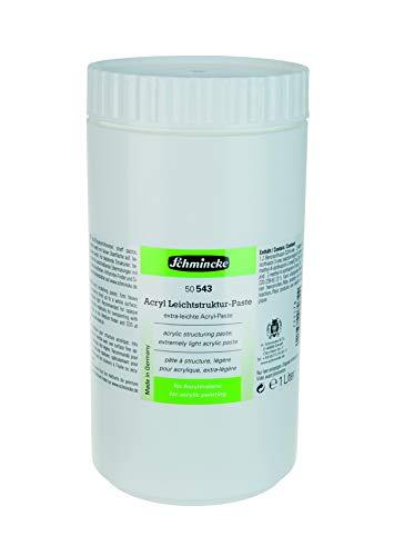 Schmincke Acryl Leichtstruktur-Paste, 1000 ml