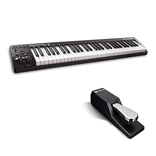 M-Audio Keystation 61MK3 + SP-2 - Tastiera MIDI Controller USB con Controlli Assegnabili e Pacchetto Software + Pedale di Sustain...