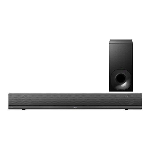 Sony HT-NT5 Premium 2.1 Multi-Room Soundbar mit 400W Ausgangsleistung, 4K UHD Pass-Thru, WiFi, NFC und Bluetooth (In/Out), schwarz