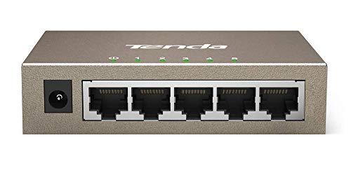 Tenda 5-port Switch Gigabit 10/100/1000Mbps 5-port Gigabit Ethernet Switch (TEG1005D)
