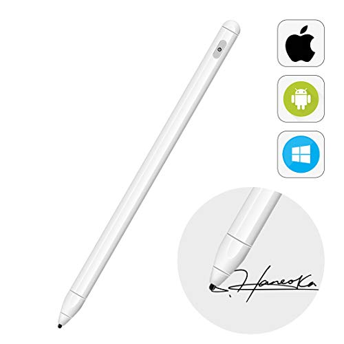 Active Stylus Pen for ipad Capacitive Pen High Sensitivity & Fine Point iPad Pencil with Magnetic Design Universal for Applo/iPhon/Ipad pro/Mini/Air/Android/Microsoft et. Rechargeable Active Stylus