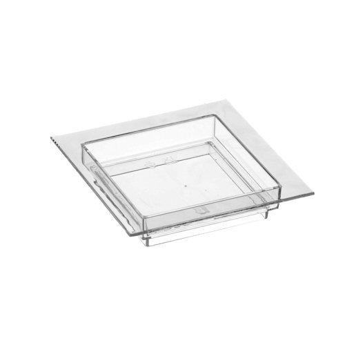PAPSTAR 11208 50 Fingerfood Teller 7 x 7 cm glasklar