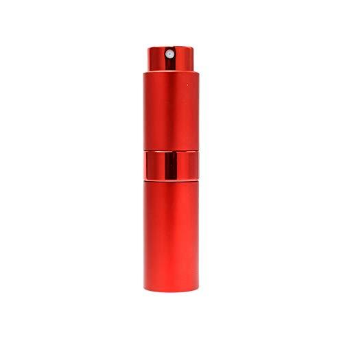 Happyshop Lot de 18 flacons de parfum vides, 15 ml, rechargeables en verre vides et portables, taille de voyage Mini flacon de parfum anti-fuite pour filles, garçons, femmes, hommes