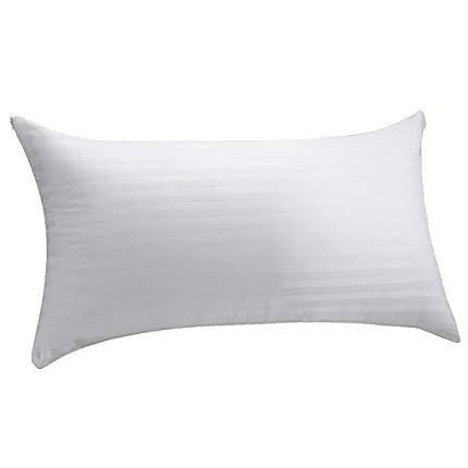 Pikolin Home - Pack de 2 fundas de almohada 100% algodón cutí completamente transpirable confeccionada con tratamiento antiencogimiento